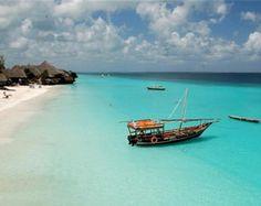 Zanzibar, an island off the coast of Tanzania- bluest water I've ever seen. Beaches In The World, Places Around The World, Travel Around The World, Dream Vacations, Vacation Spots, Romantic Vacations, Italy Vacation, Romantic Travel, Maldives