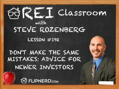 Steve Rozenberg goes over valuable lessons he's learned so that you don't have to make the same mistakes.
