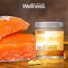 O Ómega 3 da Wellness By Oriflame provem de um óleo de peixe de alta qualidade cuidadosamente selecionado que fornece ao seu corpo EPA e DHA importantes ácidos gordos. Estes componentes são fundamentais e regulam as funções essenciais do nosso corpo. Eles também são poderosos anti-inflamatórios.