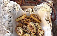 Biscotti con cuore di fichi secchi
