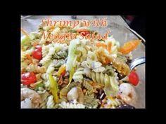 Shrimp Salad Recipe / Shrimp Pasta Salad / Shrimp salad With Italian Dressing - YouTube