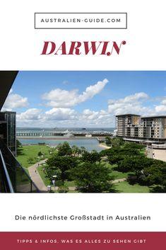 Darwin ist der Dreh- und Angelpunkt für alle Ausflüge und Roadtrips im Norden Australiens. Dabei hat die nördlichste Großstadt auch einiges zu bieten: hier gibt´s Tipps & Infos, was du alles in Darwin erkunden kannst! Viel Spaß beim Lesen & Entdecken!