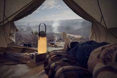 Lampada e torcia da campeggio