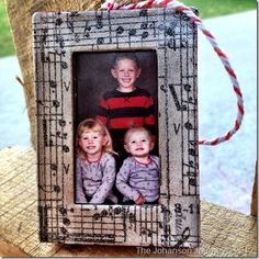 #NUO2012 Family Frame Ornament
