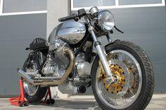 Moto Guzzi Classic Cafe Racer Neuaufbau von Radical Guzzi nach Kundenwunsch   eBay