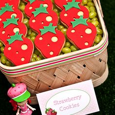 Great strawberry cookies