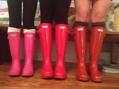 hunter boots! (Photo: southern prep)