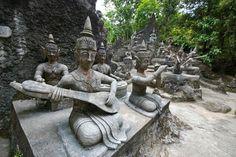 Secret Buddha Garden in Koh Samui