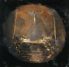 Advent Daybook, Til Kingdom Come — Tamara Hill Murphy Moonlight Painting, Small Icons, Pre Raphaelite, Art Database, Paint Pens, Aesthetic Art, Art Reproductions, Traditional Art, Les Oeuvres