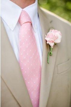 REVEL: Pink + Tan Groom