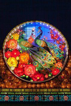 Chinese Lantern Festival Peacocks | Flickr - Photo Sharing!