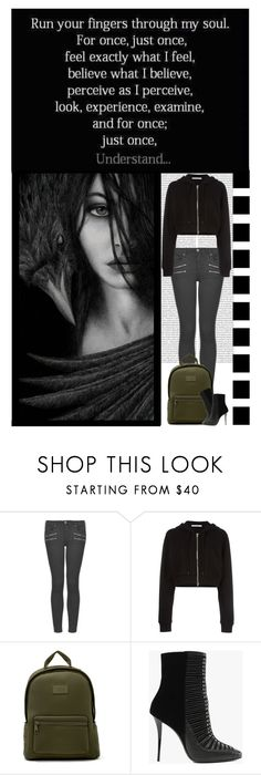 """Run your finger through my soul....."" by irresistible-livingdeadgirl ❤ liked on Polyvore featuring Topshop, Givenchy, Balmain, biker, balmain, patentleather, ankleboots, balmainarmy, emo and Punk"