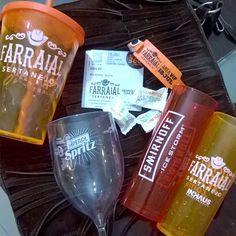 Bebidas do show  #HenriqueeJuliano #FarraialSertanejo #Farraial #bs4esb16 #amigaparceira  #amigaparceirasoseforamigasolteira