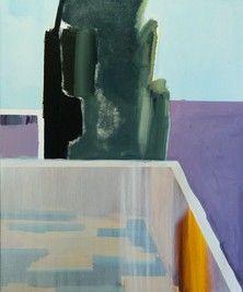 Villa Arson // Corner 2020 oil on canvas 100x120 cm Body M, Oil On Canvas, Villa, Corner, Fork, Villas