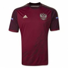 2014 Russia Home Red Jersey Shirt