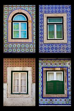 Colorful Windows in Lisbon Portugal.  Fine Art. Home Decor.Travel Photography. Lisbon Images. Lisbon Photos.Portugal. Wall Decor. Wall Art. by MaxiwowPhotography on Etsy
