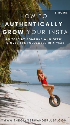 How to authentically grow your instagram, as told by an instagrammer who grew up over 60k followers in a year. Tips on hashtags to use, when to post, how to create better content as well as how to monetise your account and work with hotels and brands.