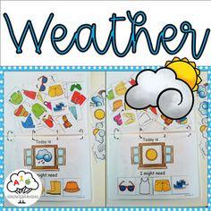 Weather Activities Preschool, Sorting Activities, Holiday Activities, Classroom Activities, Science Fun, Science Resources, Science And Nature, Kindergarten Curriculum, Literacy
