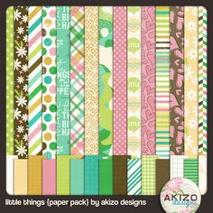 Free Little Things Paper Pack