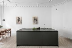 A bright Swedish apartment with a minimalistic feel