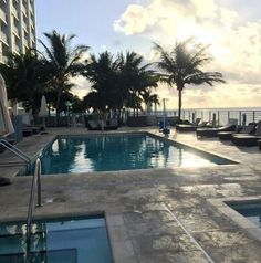 Miami living at its finest!  Photo by @hallierhome #guestphototuesday #RooftopPool #GBHLife