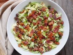 You guys! I am in love with this bacon and shredded Brussels sprouts salad. It's naturally sweet, deliciously salty and perfectly crunchy. It's made with a few strips of nitrate-free and sugar-free bacon, pumpkin seeds, toasted walnuts, naturally sweet dried fruit and Brussels sprouts. I used chopped apricots for my dried fruit and love the flavor…   Read More