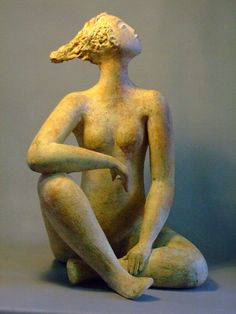 ☥ Figurative Ceramic Sculpture ☥ Ingrid Dusselberg | I am Woman
