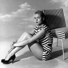 Elizabeth Montgomery, 1950s. She became our favorite witch later on Bewitched.