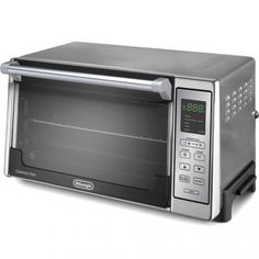 ... Ovens >> DeLonghi Brushed Stainless Grit ones teeth Digital Convection Oven