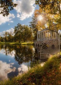 Puskin Park, St. Petersburg   Russia
