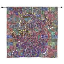 China Dragon Abstract Quilt Curtains by Admin Store - CafePress Quilted Curtains, Curtain Designs, Dragon China, China China, Quilts, Rugs, Abstract, Color, Store