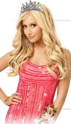 Ashley Tisdale as Sharpay Evans in High School Musical 3