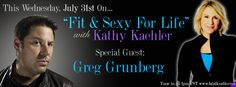 Greg Grunberg on Fit and Sexy for Life radio Wednesday July 31, 2013 Love this guy.  Can't believe it was almost two years ago.