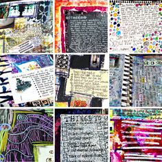 Art Journaling in 3 Phases-plus great links