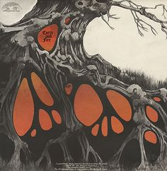 Earth and Fire - Earth and Fire album cover Roger Dean