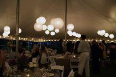 Beautiful Outdoor Tent Wedding #jamestownawning #tentwedding