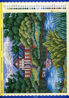 Gallery.ru / Фото #7 - ЧМ ручная вышивка 2004 10 - tymannost Cross Stitch House, Cross Stitch Bird, Cross Stitch Flowers, Cross Stitching, Cross Stitch Embroidery, Cross Stitch Bookmarks, Cross Stitch Charts, Cross Stitch Designs, Cross Stitch Patterns