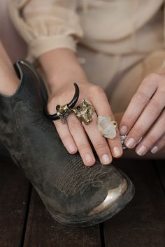 Thunderdome Tusk Ring - Black Onyx | Spell & the Gypsy Collective