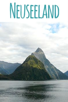 Milford Sound auf der Südinsel. Lies weiter in meinem Reiseblog: Neuseeland - Reisetipps, Routenvorschläge & Sehenswürdigkeiten
