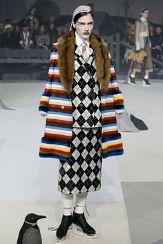 View the complete Thom Browne Fall 2017 ready-to-wear collection.