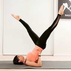 Stay fit with scissor in air ! :)