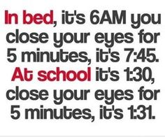 Except at work...and I don't close my eyes. I would get fired for that haha.