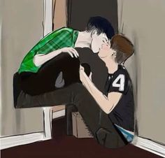 ok so i don't usually pin phanart but this is too fucking cute