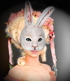Items similar to Rabbit Mask Bunny mask Animal mask Masquerade Face mask Paper mache Rabbit mask Papier mache Rabbit mask costume on Etsy Paper Mache Mask, Paper Mache Animals, Bunny Mask, Animal Masks, First Photograph, Masquerade, Rabbit, Hand Painted, Costumes