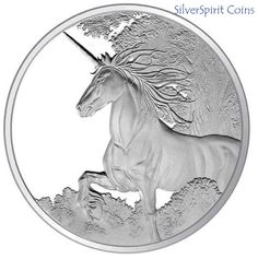 2014 UNICORN PROOF 1oz Silver Proof Coin