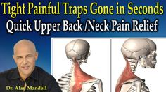 Tight Painful Traps Gone in Seconds / Quick Upper Back & Neck Pain Relie...
