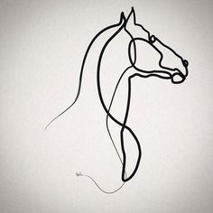 Oneline horse 0301
