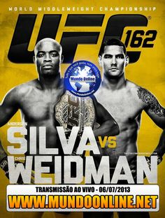 UFC 162 Anderson Silva vs Chris Weidman – AO VIVO 06/07/2013