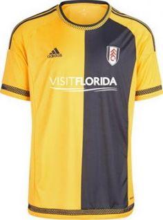 camiseta del Fulham segunda 2016