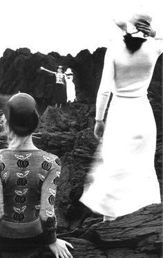 Photo by Guy Bourdin for Vogue Paris, 1971.